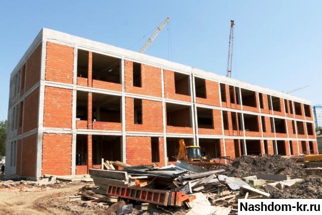 строительство корпуса к гимназии №23 в краснодаре