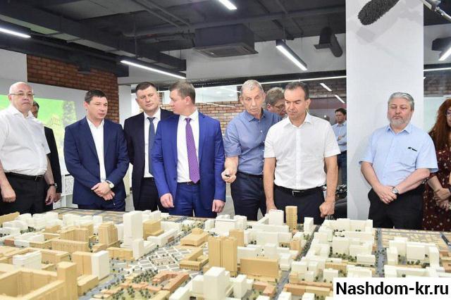 проект реконструкции центра краснодара