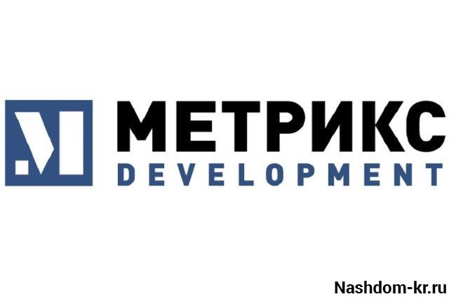 логотип «метрикс девелопмент»