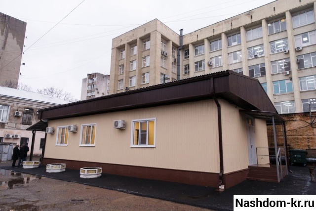 новое здание медобследования призывников в краснодаре