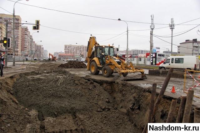 строительство коллектора по ул. им. петра метальникова в краснодаре