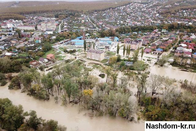 потоп в краснодарском крае 2018