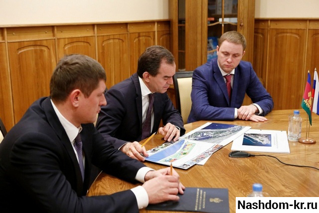 вениамин кондратьев о строительстве школы для одаренных детей в краснодаре.